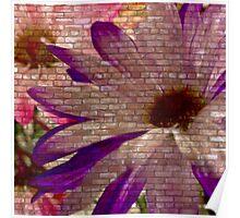 Urban Floral 1 Poster
