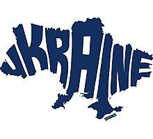 Ukraine Blue Photographic Print