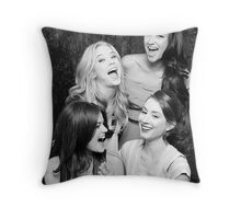 The Laughing Liars Throw Pillow