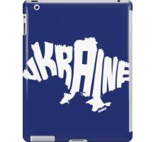 Ukraine White iPad Case/Skin