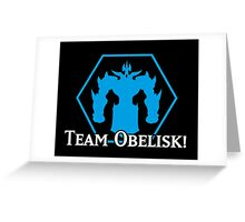Team Obelisk - Yu-Gi-Oh! Greeting Card