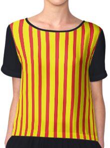 Stripes I. Chiffon Top