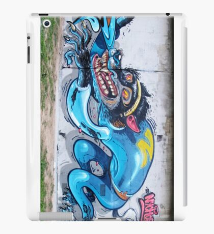Graffiti Wall. iPad Case/Skin