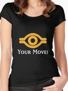 Your Move - Yu-Gi-Oh! Women's Fitted Scoop T-Shirt