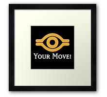 Your Move - Yu-Gi-Oh! Framed Print
