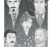 The Prestige - Green Variant by Michael Donnellan