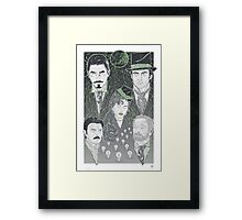 The Prestige - Green Variant Framed Print