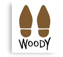 Woody ft. Boots - Toy Story Canvas Print