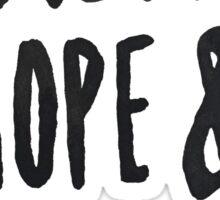 Faith Hope and Love Sticker