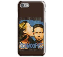 Gillian licks David's face / Schmoopies iPhone Case/Skin