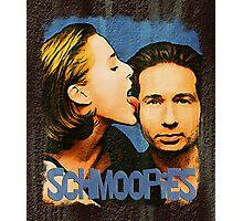 Gillian licks David's face / Schmoopies Photographic Print