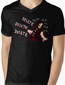 DELETE_EXE Mens V-Neck T-Shirt
