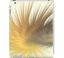 Gold Feather Plumes iPad Case/Skin