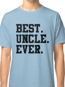 Best Papa Ever black Classic T-Shirt