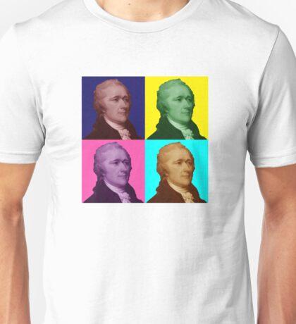 Alexander Hamilton Popart Unisex T-Shirt