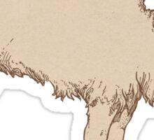 Plain Ole Doublehump Camel Sticker