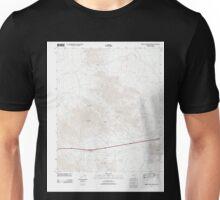 USGS TOPO Map Arizona AZ Middle Camp Mountain 20111123 TM Unisex T-Shirt