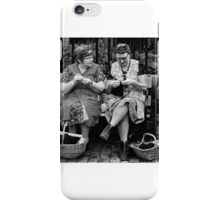 Knitting for the war iPhone Case/Skin