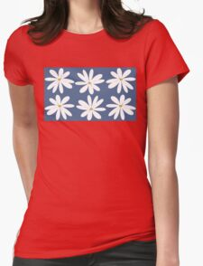 EARTH LAUGHS IN FLOWERS Womens Fitted T-Shirt
