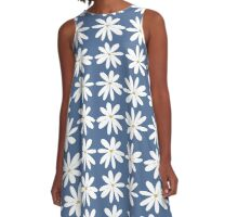 EARTH LAUGHS IN FLOWERS A-Line Dress