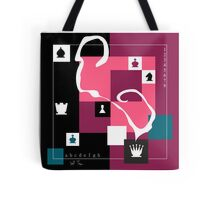 Poetry of chess game 1 Tote Bag