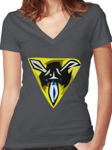 Trinity Force Women's Fitted V-Neck T-Shirt