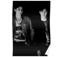 Exo Lotto - Lay and Sehun Poster