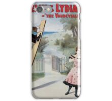 Performing Arts Posters George Felix Lydia Barry in The vaudeville craze 0335 iPhone Case/Skin
