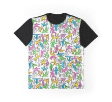 Color Silhouettes  Graphic T-Shirt