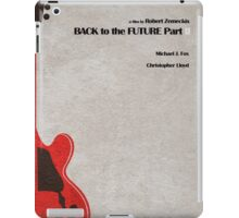 Back to the Future Part II iPad Case/Skin