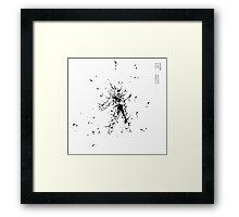 majin vegeta - DBZ Framed Print