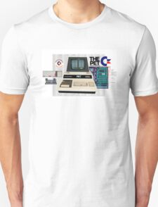 Commodore Pet Computer - Basic By Bill Gates. Unisex T-Shirt