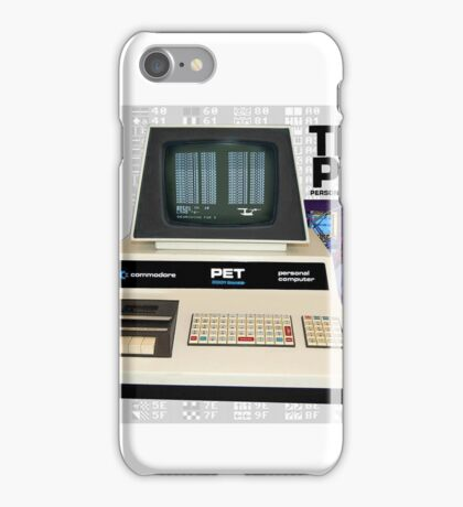 Commodore Pet Computer - Basic By Bill Gates. iPhone Case/Skin