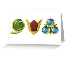The Spiritual Stones Greeting Card