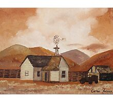 Country Home Photographic Print