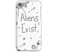 Aliens Exist iPhone Case/Skin