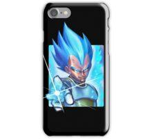 vegeta super saiyan blue - dbz iPhone Case/Skin