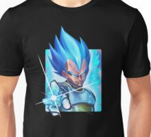 vegeta super saiyan blue - dbz Unisex T-Shirt