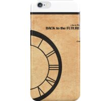 Back to the Future Part III iPhone Case/Skin