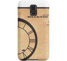 Back to the Future Part III Samsung Galaxy Case/Skin