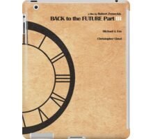 Back to the Future Part III iPad Case/Skin