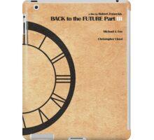 Back to the Future Part III iPad Case/Skin