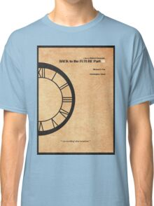 Back to the Future Part III Classic T-Shirt
