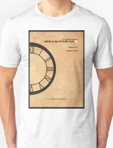 Back to the Future Part III Unisex T-Shirt
