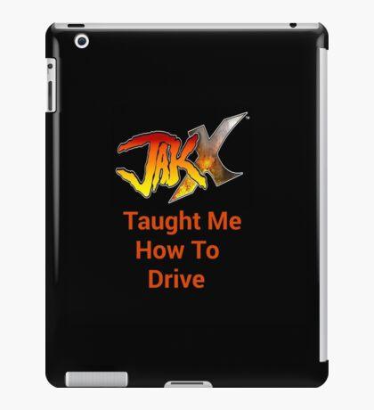 Combat Driving iPad Case/Skin
