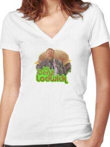 D.A. Daryl Lodwick Women's Fitted V-Neck T-Shirt