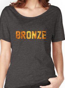 Bronze Tier  Women's Relaxed Fit T-Shirt