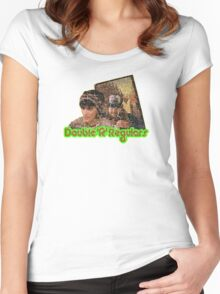 Double R Diner Regulars Women's Fitted Scoop T-Shirt