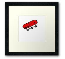 Akira pill red Framed Print