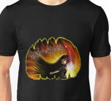 Persephone and the Netherworld (Original custom art)  Unisex T-Shirt